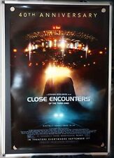 Close Encounters of the Third Kind 40th Anniversary Original 27x40 Poster wow!