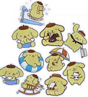 RARE! 10 Large Pompompurin Waterproof Kawaii Stickers For Laptop Hydro Flask