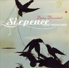 CD - Sixpence None The Richer - Divine Discontent - Christian