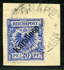Karolinen Mi 4 I  Kab.-Briefstück  Ponape   gepr.   160,-