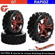 RC 1/10 Scale Racing Off Road Rally Tyres Wheel Rubber For RC Car Parts 4 PCS