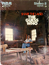 THE GUESS WHO Share The Land  NEW SEALED 8 TRACK CARTRIDGE