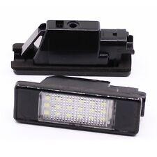 Car LED License Plate Light For Peugeot 207 307 308 508 406 407 Citroen C2 C3 C4