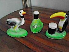 3 Carlton Ware  Guinness memorabilia.   Small Toucan, ostrich and tortoise