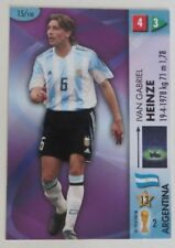 Panini Argentina Not Autographed Football Trading Cards