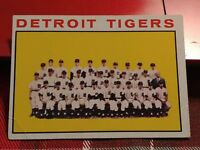 1964 Topps #67 Detroit Tigers Team Card VG