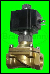 "Magnetventil SVS 3/4"" 230V 50Hz 0-14bar NO Viton Heizung Wasser Luft Industrie"