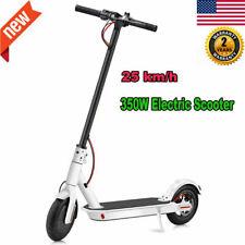 "8.5"" Folding Electric Scooter 350W Aluminum Alloy Skateboard 40 KM Long Range US"