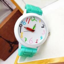NEW WOMENS MENS KIDS GIRLS BOYS LADIES WATCHWRIST WATCH JELLY SILICONE WATCHES N