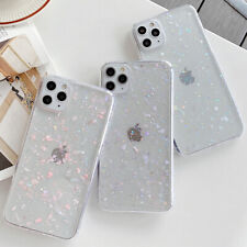Glitter Crystal Sequin Clear Soft Case Cover For iPhone 11 Pro XS Max X 7 8 Plus