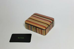 Paul Smith leather cufflink box New vintage exceptional