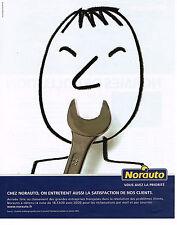 PUBLICITE ADVERTISING 104  2005  NORAUTO   accessoires automobiles