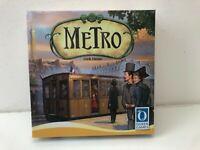 Metro von Queen Games in OVP inkl. 4 Erweiterungen Brettspiel Gesellschafts