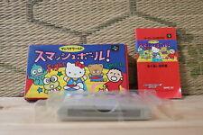 Sanrio World Smash Ball w/box manual Nintendo Super Famicom SFC VG!