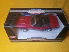 ERTL AMERICAN MUSCLE 1969 FORD MUSTANG SHELBY GT-500 RED 1:18 DIE CAST