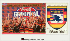 1998 Select AFL Adelaide Premiership Limited Edition Card + Predictor Card:PC1
