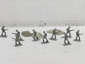 Militärfiguren aus Weißmetall, o.OVP, Skytrex/Mercator, ca. 1:200/220, Set 26
