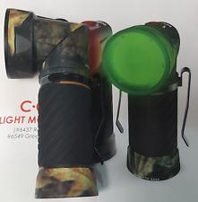NEBO Camo Cryket Cricket COB LED 90 Degree Swivel 250 Lumen Green Night Vision