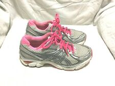 ASICS GEL- GT2160 RUNNING SHOES GREY PINK WHITE ( SIZE 6 ) WOMEN`S