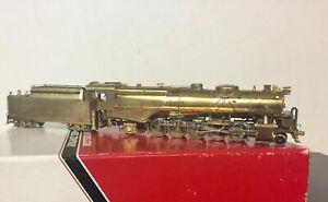 HO Brass Westside Models Pennsylvania N1 2-10-2 Santa Fe excellent