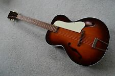 Vintage c. 1960 Kay N3 archtop acoustic guitar, scary clean!
