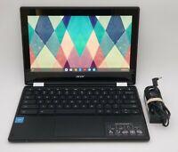 "2018 Acer Chromebook 11.6"" Touchscreen 2-in-1 Laptop *GRADE A* Model C738T"