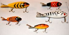 New listing Lot of 5 Vintage Bomber Fishing Lures