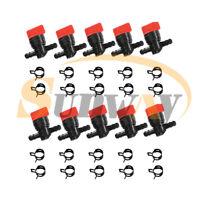 10x Robinet de carburant/ Robinet essence pour B&S 698183 Wolf 2058063 2059063