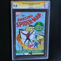 AMAZING SPIDER-MAN #1 (2011 Reprint) 💥 SIGNED by STAN LEE 💥 CGC SS 9.8 Dallas