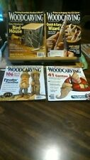 Woodcarving Illustrated Magazines Issues 42,43,44,45