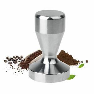 Handle Press Cafe Coffee Tamper Barista Espresso Flat Base Tool 51mm UK