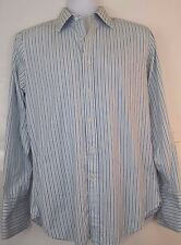 Charles Tyrwhitt Mens Slim Fit French Cuff Long Sleeve Button Shirt Sz 15.5 33