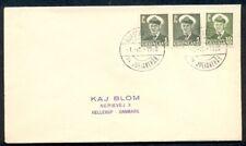 Greenland Wow. 69.01 Narssarssuaq pr. Julianhab, 1959, Airmail cover to Denmark