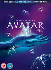 Avatar - Extended Collector's Edition (Blu-ray, 2010, 3-Disc Set, Box Set)