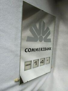 Commerzbank DREHKALENDER Dauerkalender Spiegel ewiger Kalender Fritz Borsi DGM