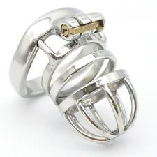 """A275 Stainless Male Chastity Cage Device- 1.97"""" Ring - USA Seller-Fast Shipping!"""