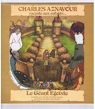 LP CHARLES AZNAVOUR RACONTE AUX ENFANTS LE GEANT EGOISTE