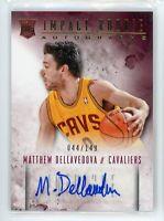 2013-14 Matthew Dellavedova 44/149 Auto Panini Intrigue Autographs Rookie #7