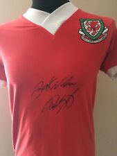 Wales Shirt Signed By Ryan Giggs With Guarantee