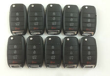 LOT OF 10 KIA SOUL 14-15 OEM HIGH SECURITY REMOTE GENUINE FLIP KEY LESS ENTRY US
