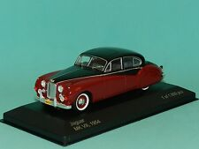 WhiteBox 1/43 1954 Jaguar Mk VII Black Over Dark Red MiB