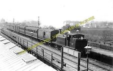 Ham Bridge Railway Station Photo. Worthing - Lancing. Brighton Line. LB&SCR. (1)