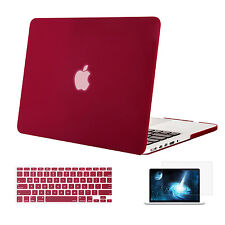 Mosiso 3 in 1 Hard shell Case for Macbook Pro 13  2013 -  2015  + Keyboard Cover