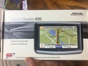 "NEW Magellan Maestro 4000 Car Portable GPS Navigator 4.3"" Widescreen LCD 3D Map"