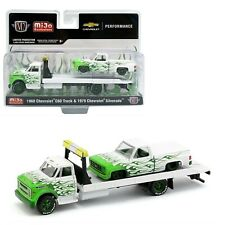 M2 MACHINES MIJO EXCLUSIVE HAULER 1968 CHEVY C60 HAULER & 1979 CHEVY SILVERADO