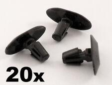 20x PEUGEOT Plastica Clip WEATHERSTRIP-per porta in gomma sigilli, PORTA GUARNIZIONE Clip