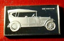 1916 Hudson Super 6 Auto Art Bar by Franklin Mint 2.15 Troy oz.925 Silver Proof