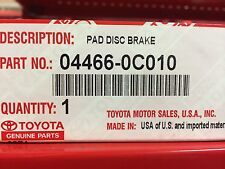 TOYOTA OEM 07-18 Tundra Brake-Rear Pads 044660C010