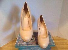 Enzo Angiolini 4662 Womens Dixy Beige Mesh Pumps Heels 9.5 M Wedding Shoes