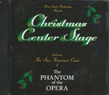 Music CD Christmas Center Stage Featuring San Francisco Cast of Phantom